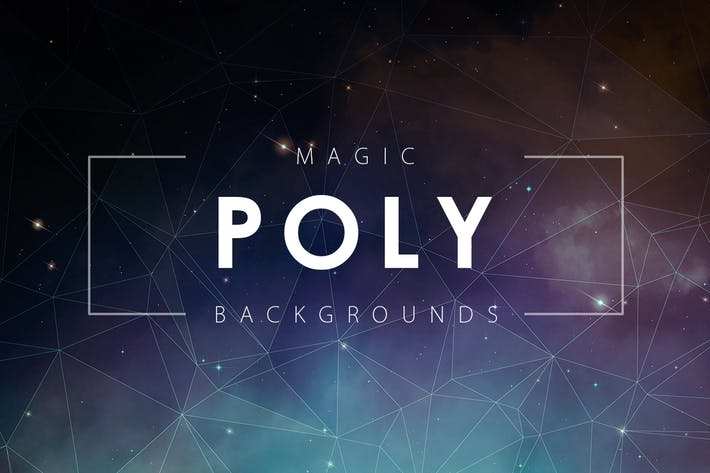 Cover Image For Magic Poly Backgrounds