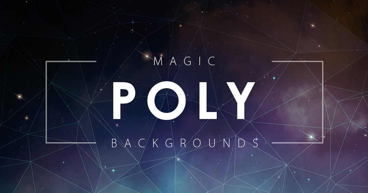 Magic Poly Backgrounds by M-e-f