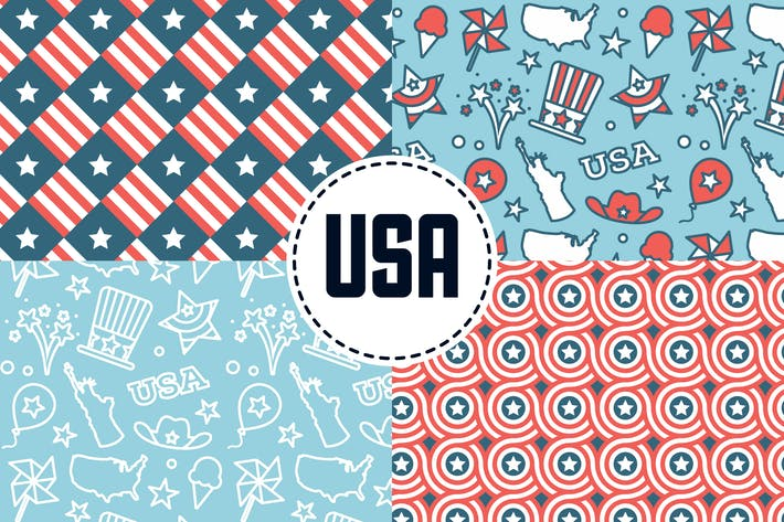Thumbnail for USA Patterns