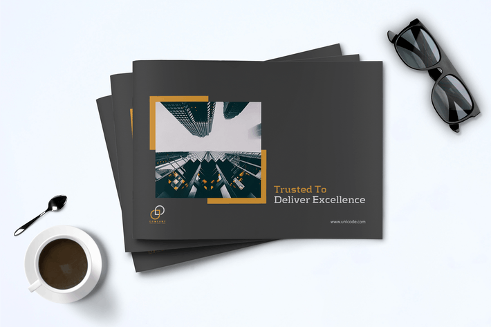 Cover Image For A5 Business Brochure