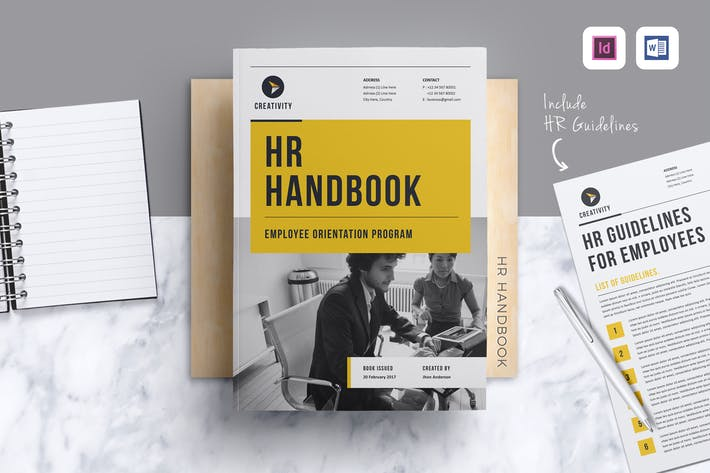 employees handbook free template.html