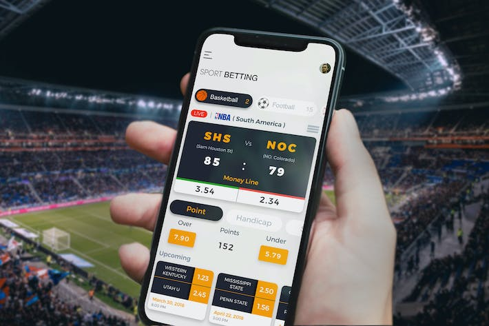 Thumbnail for Sport Betting Crypto Mobile Ui - TH