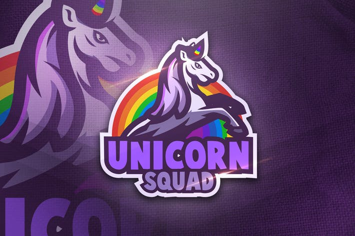 Thumbnail for Unicorn Squad - Mascot & Esport Logo