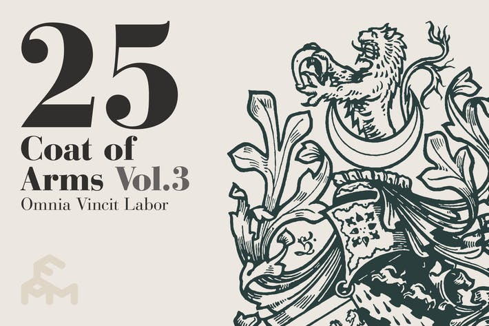Thumbnail for 25 Wappen - Vol.3
