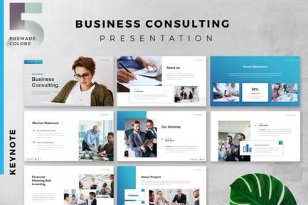 B2B Business Consulting Presentation Keynote