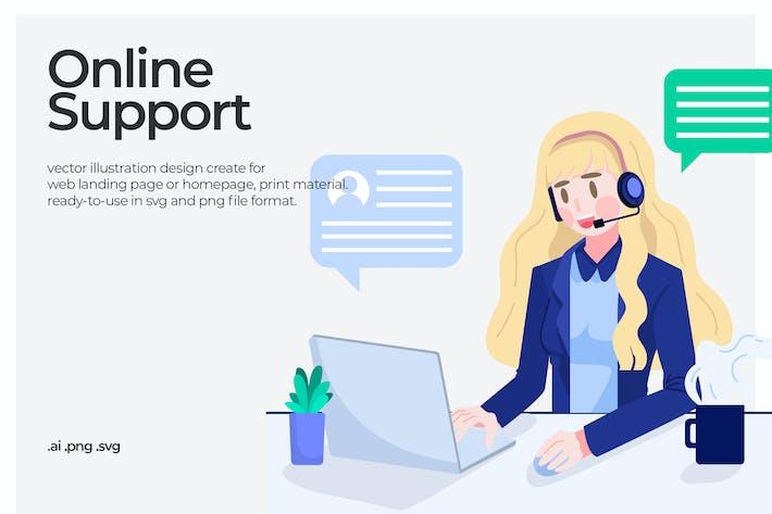 Support - Illustration