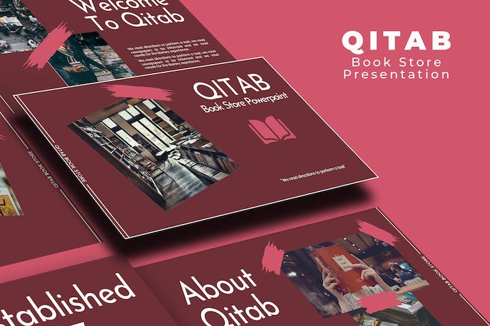 Thumbnail for Qitab Book Store PowerPoint Presentation