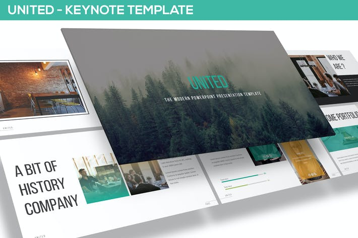 Thumbnail for United - Keynote Template