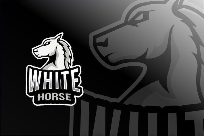 Thumbnail for White Horse Esport Logo Template