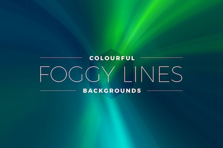Thumbnail for Colorful Foggy Lines Backgrounds