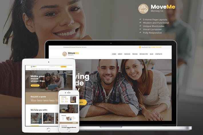 Thumbnail for MoveMe | Moving & Storage Relocation Company WP