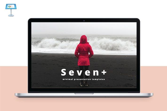 Thumbnail for SEVEN - Multipurpose Keynote Template V47