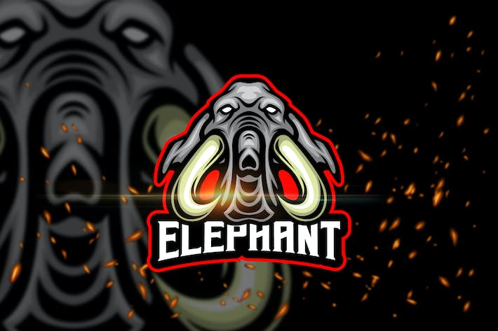 Thumbnail for Elephant - Esport & Mascot Logo Template