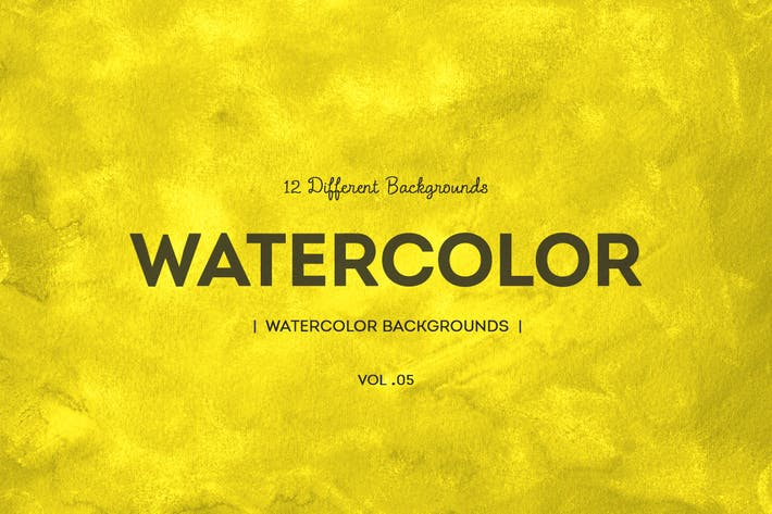 Cover Image For Watercolor Backgrounds v5