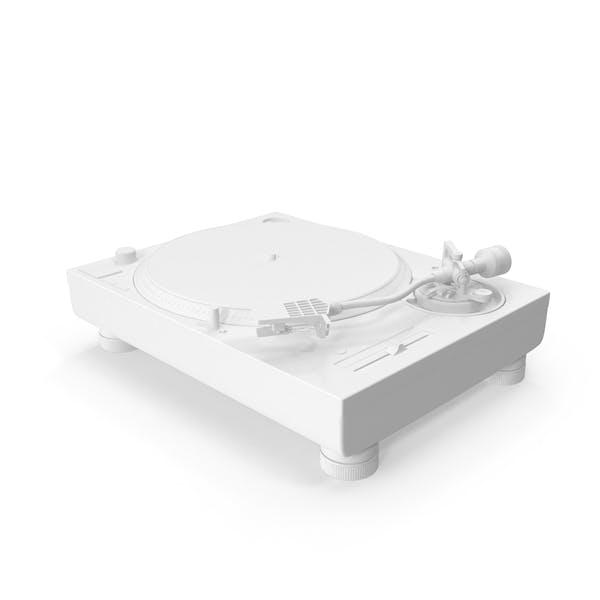 Monochrome Turntable