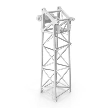 Crane S Head Section 10m White