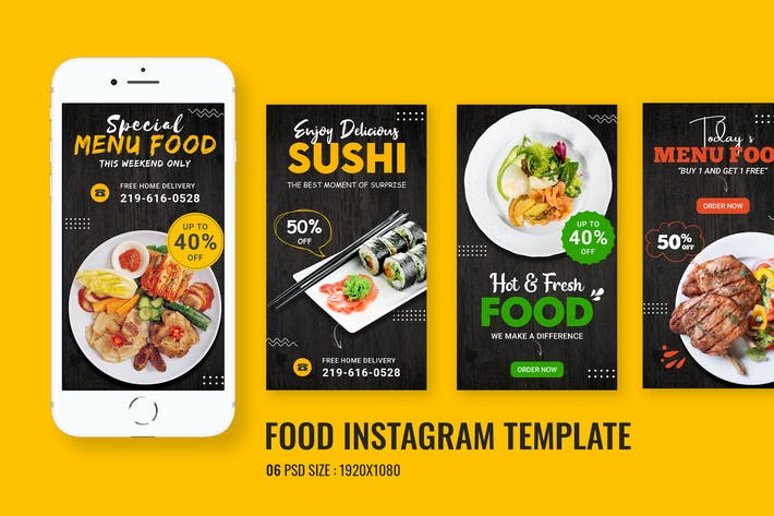 Food Promo Instagram Story
