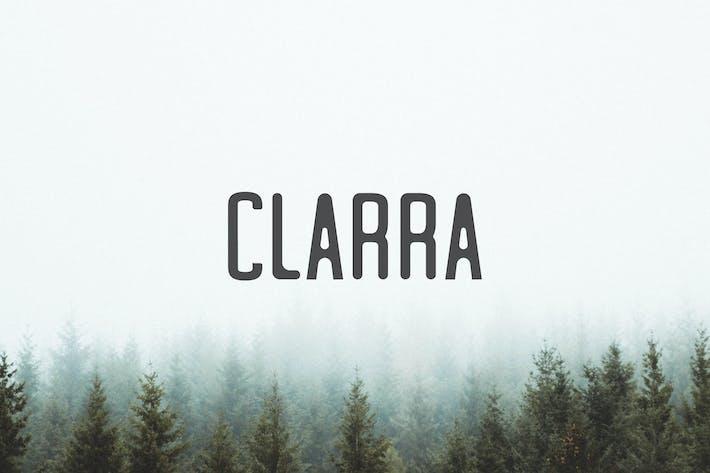 Cover Image For Clarra Sans Serif Font Family