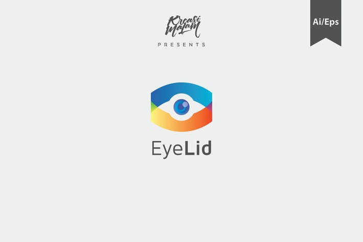 Thumbnail for EyeLid Logo Template