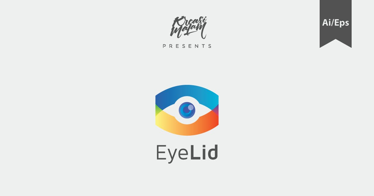 Download EyeLid Logo Template by Ijajil