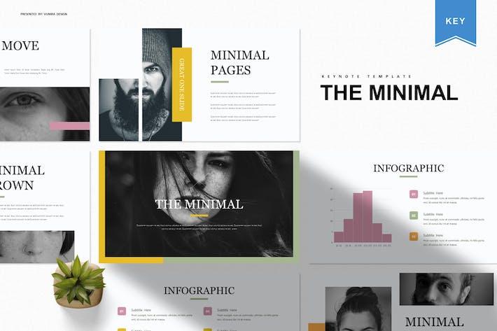 Thumbnail for Минимальный | Шаблон Keynote