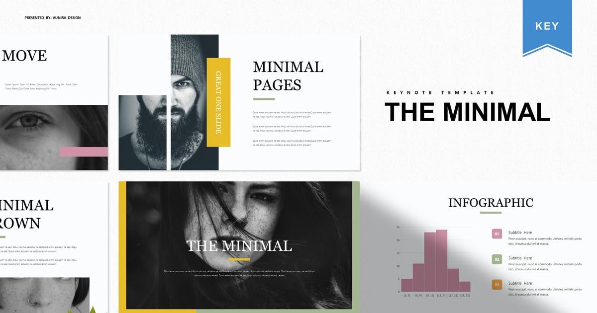 Download The Minimal   Keynote Template by Vunira