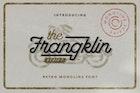Frangklin - Monoline Retro Font