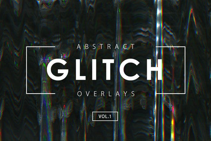 Thumbnail for Glitch Effect Overlays Vol. 1