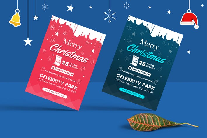 christmas party flyer by victorthemes on envato elements
