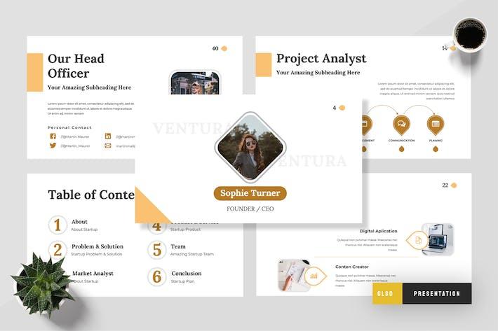 Ventura - Startup Google Slides Presentation