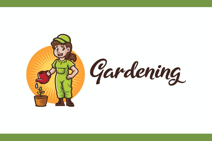 Thumbnail for Gardener Logo - Gardening and Landscaping Service