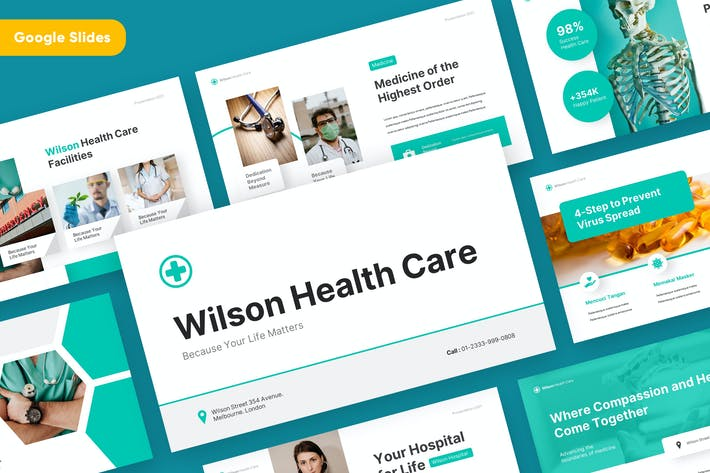 WILSON - Medical and Health Google Slides Template