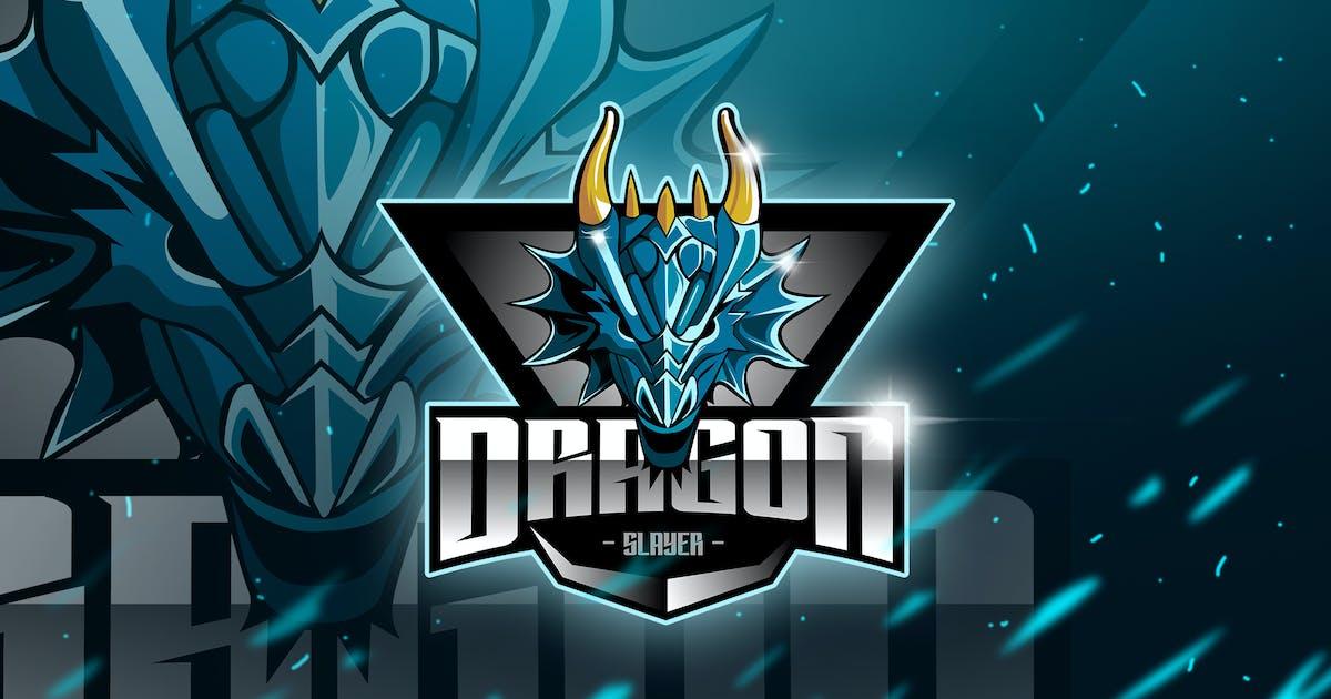 Download Dragon - Mascot & Esport Logo by aqrstudio