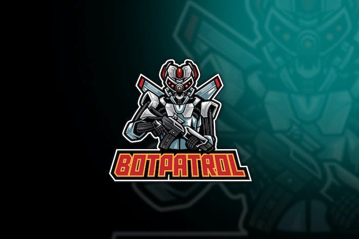 Logo Robot Patrol Esport