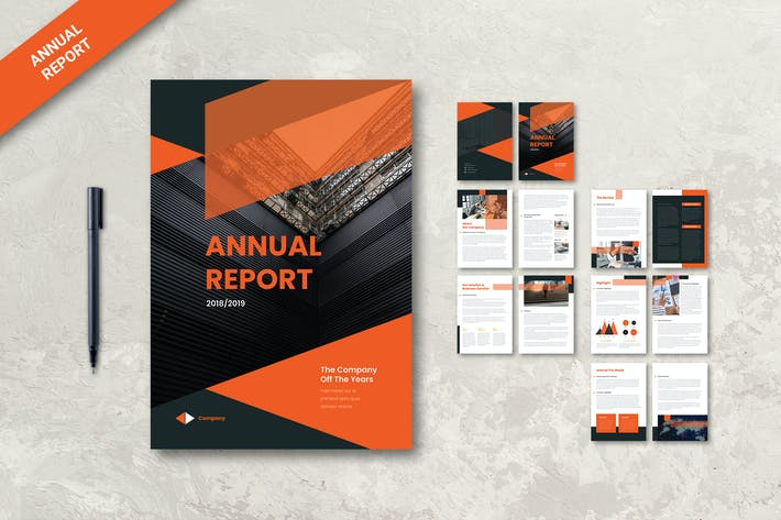 Thumbnail for Corporate Annual Report