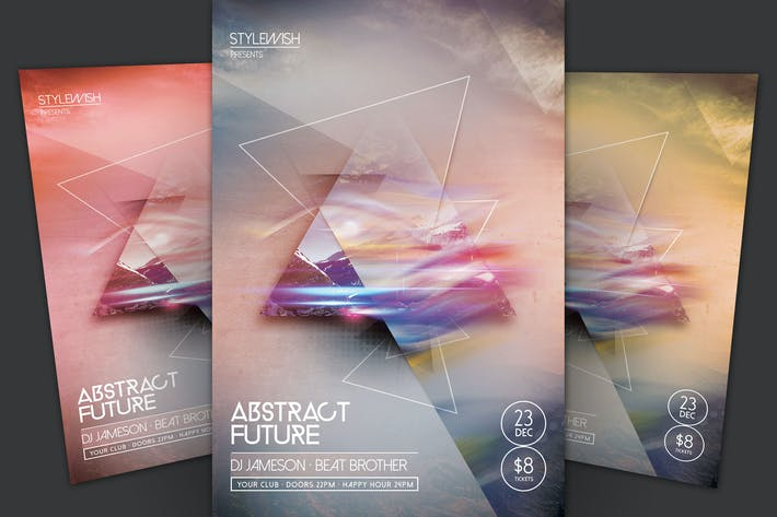 Thumbnail for Abstract Future Flyer