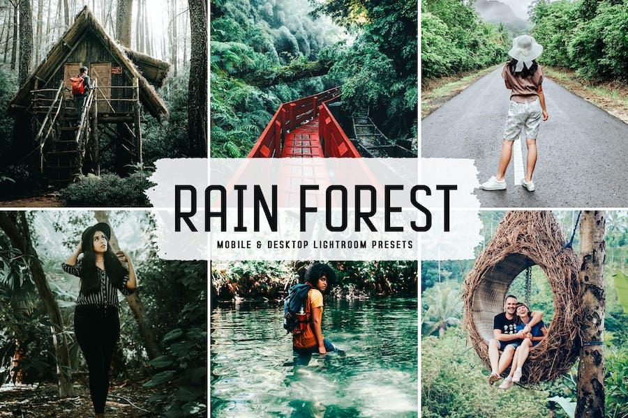 Rain Forest Mobile & Desktop Lightroom Presets
