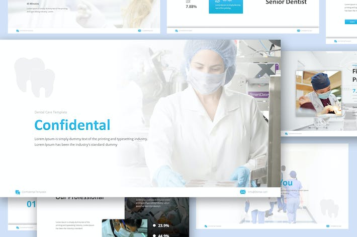 Dentist Google Slides Presentation Template