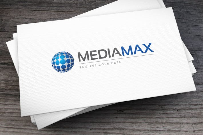 Thumbnail for Mediamax Logo Template