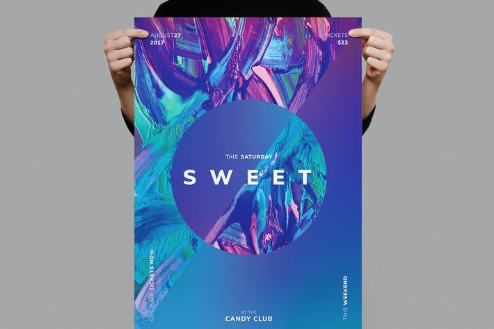 Cover Image For Sweet Flyer /  Poster Template
