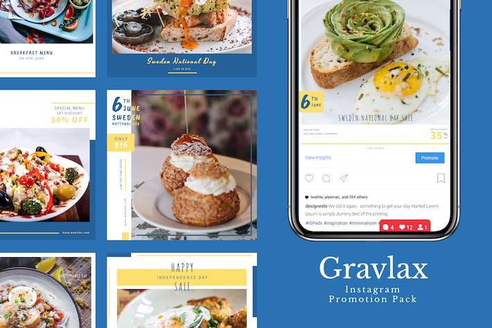 Thumbnail for Gravlax - Instagram Promotion Pack