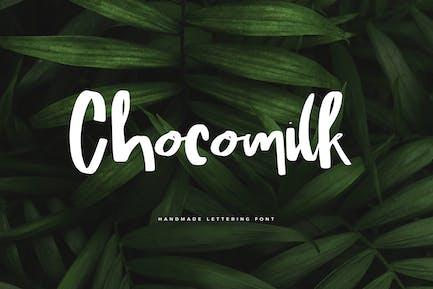 Chocomilk hecho a mano