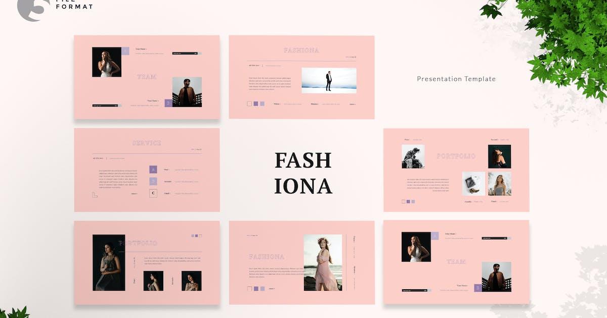 Download Fashiona - Fashion Presentation Template by naulicrea