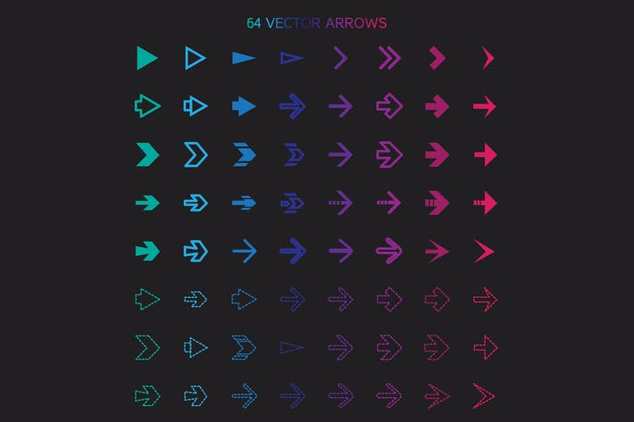 Cover Image For 64 Arrows Set