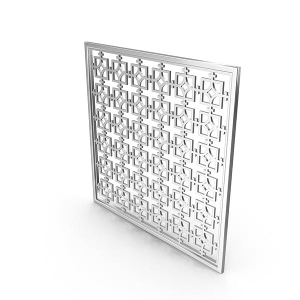 Thumbnail for Silver Decor Panel