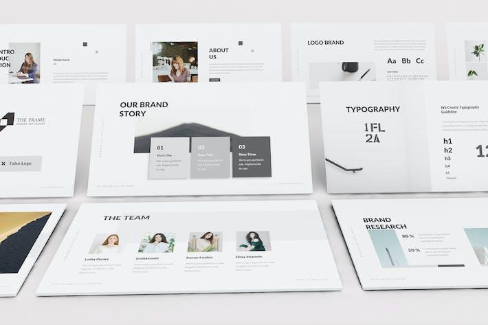 Thumbnail for Ultimate Brand Guideline Google Slides Template