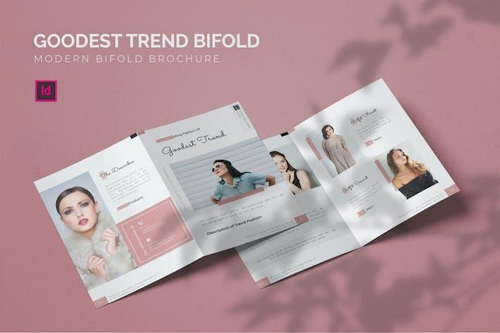 Thumbnail for Goodest Tendance - Brochure bifold