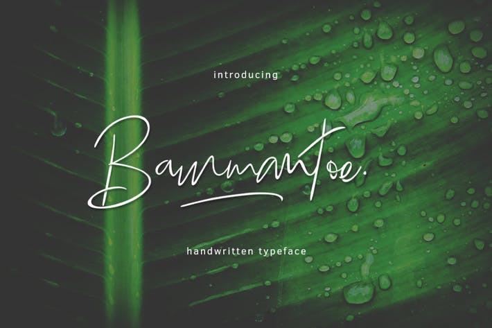 Thumbnail for Bammantoe Typeface