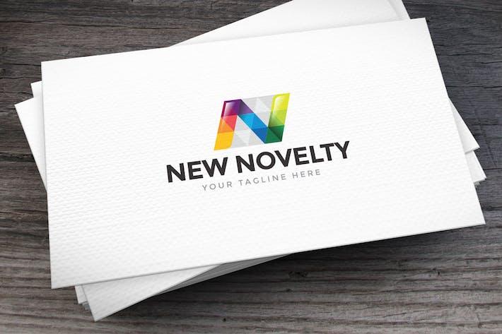 Cover Image For New Novelty Letter N Logo Template