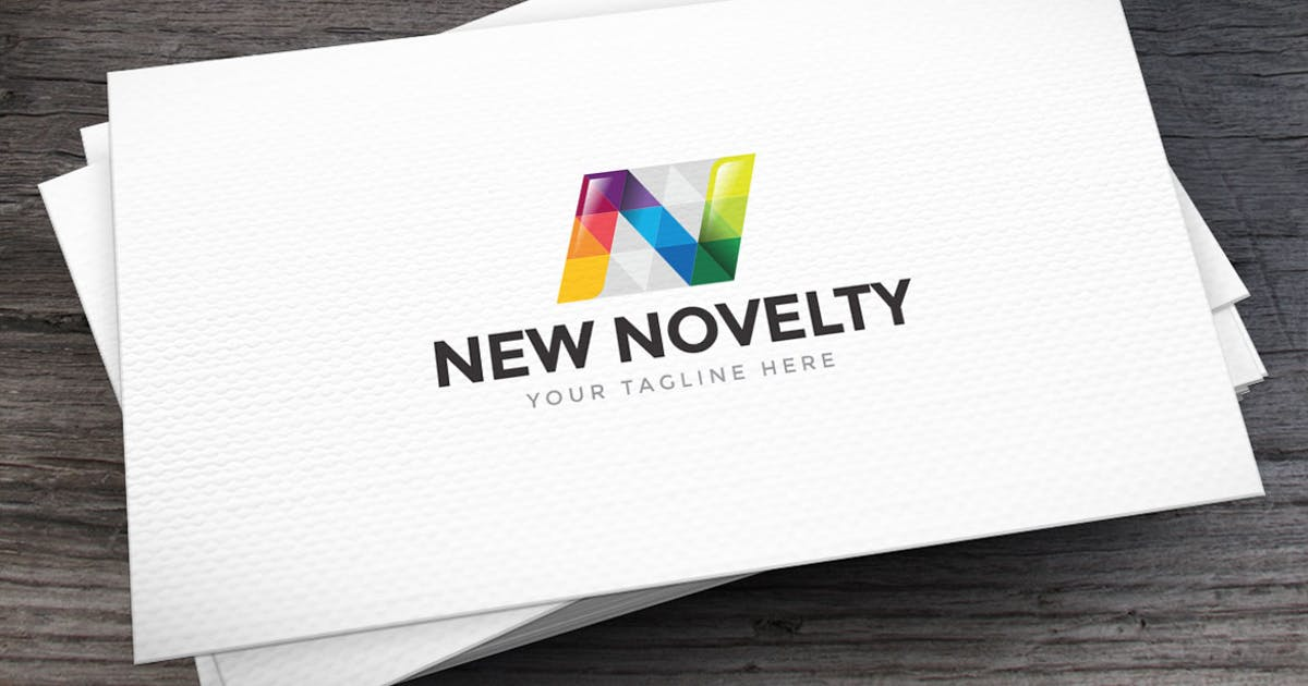 Download New Novelty Letter N Logo Template by empativo